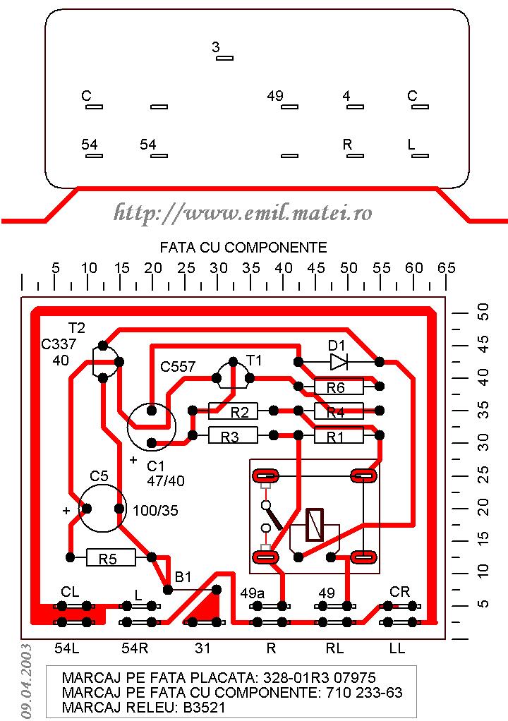 Semnalizator B on 24v Turn Signal Flasher