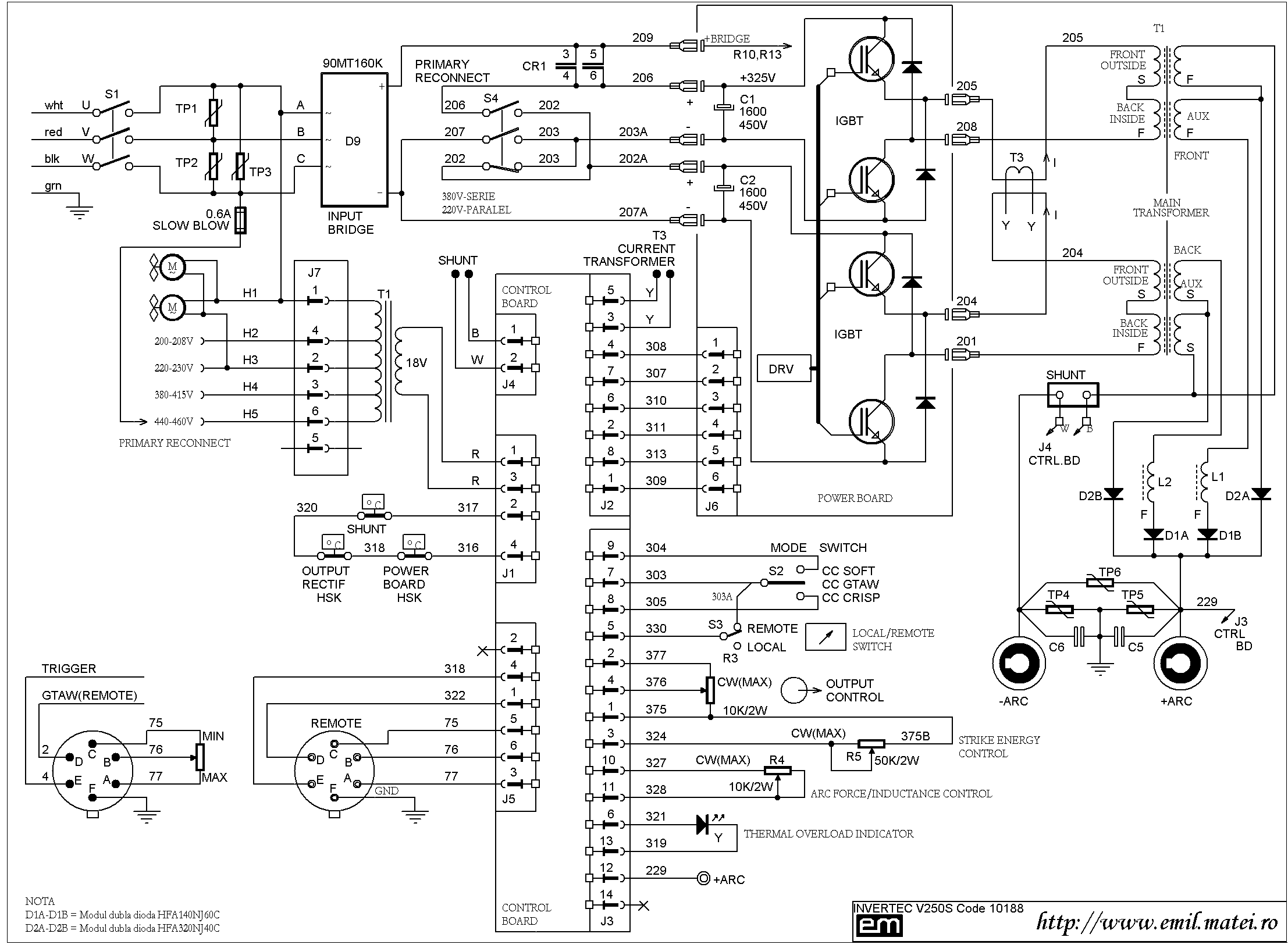 wire diagram ac 225 s lincoln ac 180 s wiring diagram emil.matei - invertorul de sudare